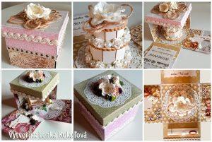Exploding box ako svadobný dar