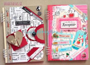 Ozdobenie zápisníkov samolepkami