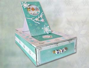 Šuflíček so snežítkom