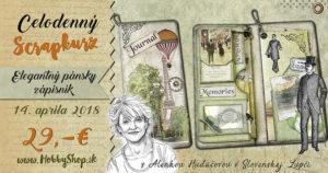 Pozvánka na kurz – Elegantný pánsky zápisník
