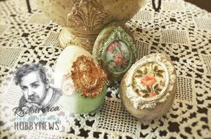 Veľkonočné vintage vajíčka