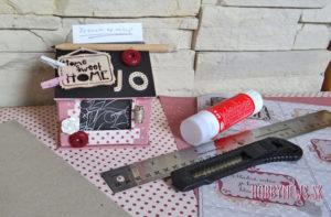 Domček na papieriky – fotopostup
