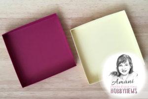 Ako si vyrobiť krabičku k pohľadniciam – fotopostup