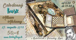 Pozvánka na kurz – Album Alchemy