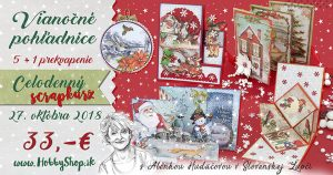 Pozvánka na kurz  – vianočné pohľadnice