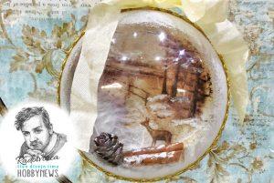 Vianočná 3D guľa – video tutoriál