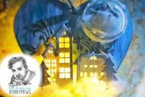 Anjelske mesto – mixed media – videotutoriál