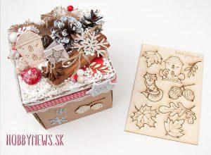 Vianočný exploding box